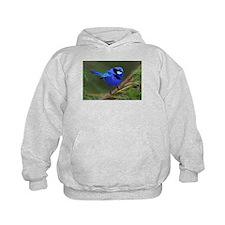 Blue Wren Hoodie