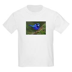 Blue Wren Kids T-Shirt