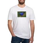 Blue Wren Fitted T-Shirt