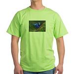 Blue Wren Green T-Shirt