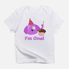 1st Birthday Puppy Infant T-Shirt