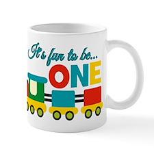 Its Fun to be One Birthday Design Mugs