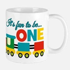 Its Fun to be One Birthday Design Mugs