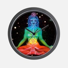 CHAKRAS 3 Wall Clock