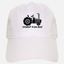 My Tractor Is A Chick Magnet Baseball Baseball Cap
