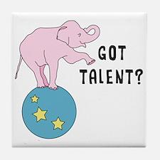 Got Talent? Tile Coaster