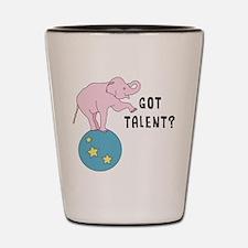 Got Talent? Shot Glass