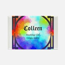 Cute Colleen Rectangle Magnet