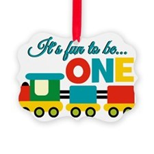 Its Fun to be One Birthday Design Ornament