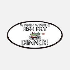 Winner Winner Fish Fry Dinner Patches