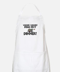 Winner Winner Fish Fry Dinner Apron
