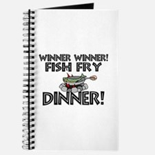 Winner Winner Fish Fry Dinner Journal