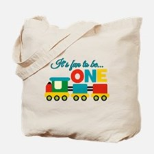 Its Fun to be One Birthday Design Tote Bag