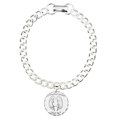 NHBS Loves Charm Bracelet, One Charm