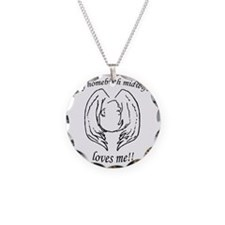 NHBS Loves Necklace Circle Charm