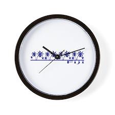 Funny Fiji Wall Clock