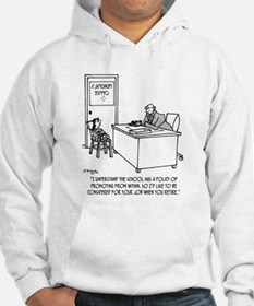 Kid Applies To Be Principal Hoodie