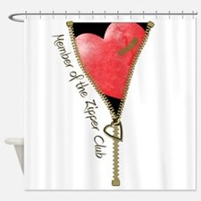 zipclubnew-2.png Shower Curtain