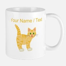 Custom Orange Cat Mugs