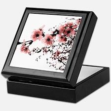 Cherry Blossoms Keepsake Box