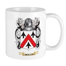 Welch Family Crest (Coat of Arms) Mugs