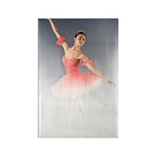 Dance Ballerina Dance Rectangle Magnet