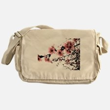 Cherry Blossoms Messenger Bag