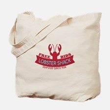 Lobster Shack Fresh Seafood Logo Tote Bag