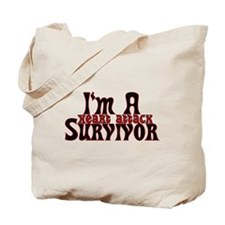 2-GEheartattacktext.png Tote Bag