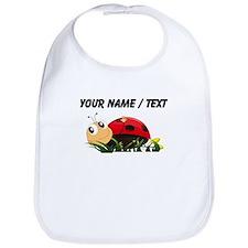 Custom Cartoon Ladybug Bib