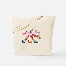 Ooh La La Luscious Lipstick Tote Bag
