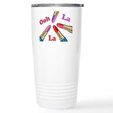Ooh La La Luscious Lipstick Travel Mug