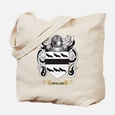 Welsh Family Crest (Coat of Arms) Tote Bag