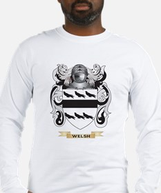 Welsh Family Crest (Coat of Arms) Long Sleeve T-Sh
