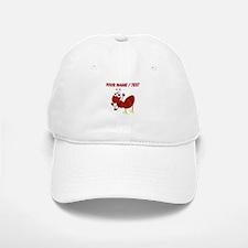 Custom Cartoon Fire Ant Baseball Baseball Cap