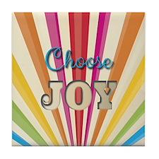 Choose Joy Tile Coaster