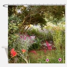 Garden In the City Shower Curtain