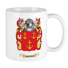 Werle Family Crest (Coat of Arms) Mugs