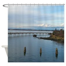 Trail Over Water Shower Curtain