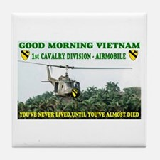 1st CAVALRY Tile Coaster