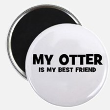 My OTTER is my Best Friend Magnet