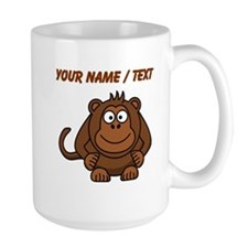 Custom Cartoon Monkey Mugs