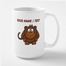 Custom Cartoon Monkey Mugs
