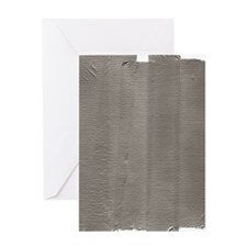 Duct Tape Greeting Card