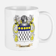 Weston Family Crest (Coat of Arms) Mugs