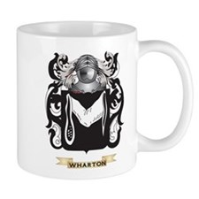 Wharton Family Crest (Coat of Arms) Mugs