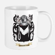 Wharton Family Crest (Coat of Arms) Mugs