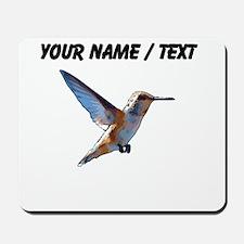 Custom Hummingbird Mousepad
