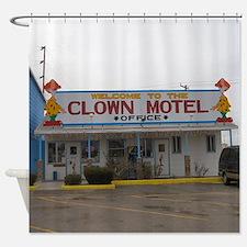 Clown Motel Shower Curtain