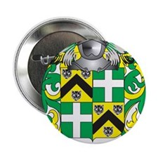 """Wheelhouse Family Crest (Coat of Arms) 2.25"""" Butto"""